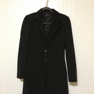 Jackets & Blazers - Black knee-length blazer